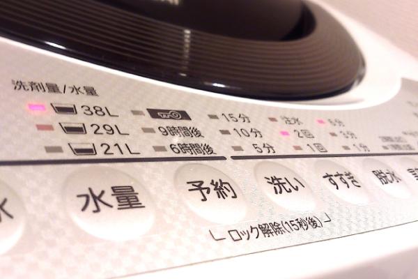 コースを上手に使い分けるのが効果的な洗濯のコツ