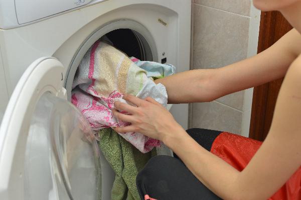 洗濯機に入れる洗濯物の量は7割程度